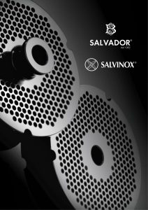 SALVADOR  SALVINOX  TORNADO. Download our catalogue 2018 in PDF format 8f0873c0568